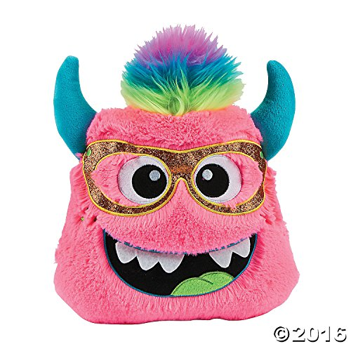 <b>Plush Monster Pillow</b>