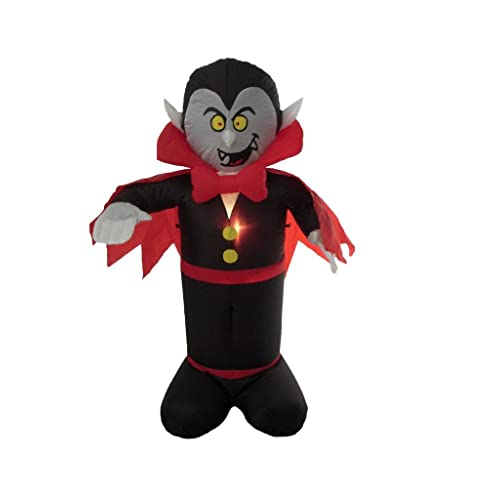 4 Foot Halloween Inflatable Dracula Vampire Yard Decoration
