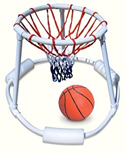 Super hoops floating basketball game toys games for How to build a basketball goal
