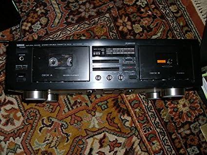 Yamaha Cassette Deck Repair Yamaha Double Cassette Deck