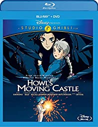 Howl\'s Moving Castle (Two-Disc Blu-ray/DVD Combo)