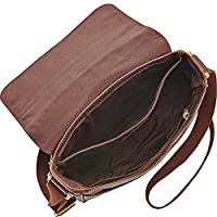 Fossil Men's Estate Saffiano Leather NS City Bag by Fossil Men's Accessories