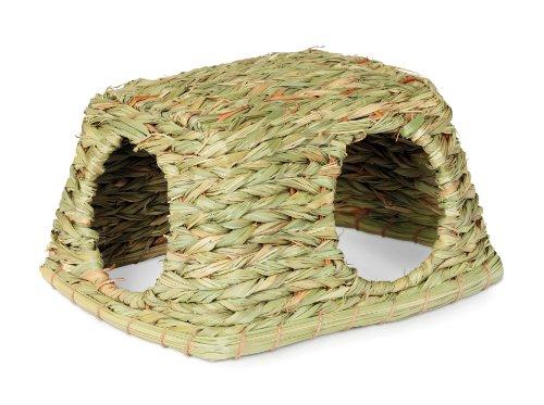 Prevue-Hendryx-1097-Natures-Hideaway-Grass-Hut-Toy-Medium