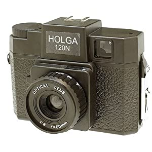 Holga 120 Camera without Flash Black 120N