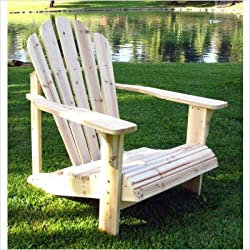 Shine Company Westport Adirondack Chair, Taupe Gray