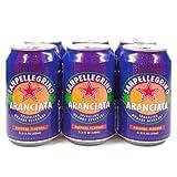 San Pellegrino Aranciata, 6 Pack - 11.15 Ounce Cans ~ San Pellegrino