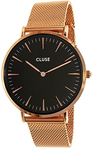 Cluse Unisex-Armbanduhr Analog Quarz Edelstahl CL18113