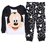 Mickey Mouse Baby Boys 12-24 M Long Sleeve Cotton Pajama Set