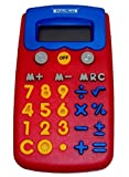 Child's Colorful Junior Calculator with Memory - 3D Buttons, Sounds, Multi-function.
