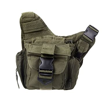 Molle Tactical Shoulder Strap Bag Pouch Backpack 55