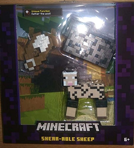 "Minecraft Sheared Able Sheep 5"" Figure"