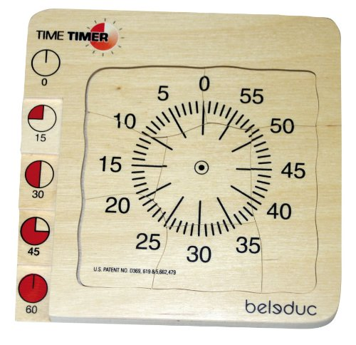 TIME TIMER PUZZLE [Toy] - 1