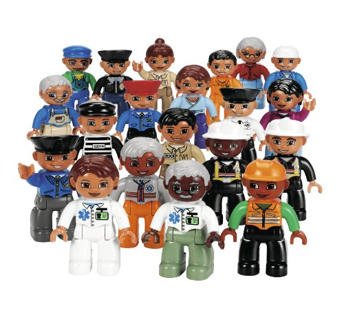 LEGO Education DUPLO Community People Set 4591516 (20 Pieces) - 1