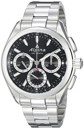 Alpina-Mens-AL-760BS5AQ6B-Alpiner-4-Manufacture-Analog-Display-Automatic-Self-Wind-Silver-Watch