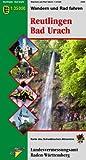 Reutlingen Bad Urach: Wandern und Radfahren 1:35000 (Karte des Schwäbischen Albvereins, Band 19)
