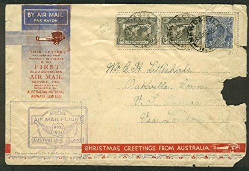 first-all-australian-air-mail-postal-cover-australia-england-1931