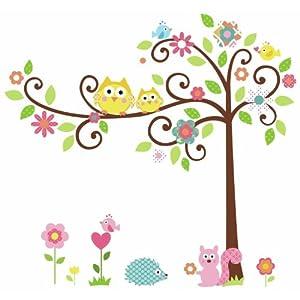 Wallpaper Owl Tree