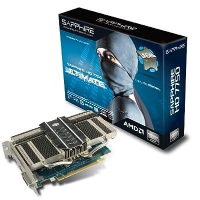 SAPPHIRE Radeon ビデオカード ULTIMATE HD7750 1G GDDR5 PCI-E 日本正規代理店品 SAUL-HD775-1GD5R0