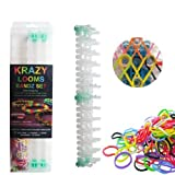 Krazy Loom Bandz Rubber Band Bracelet Making Kit Set - 600 Piece Gift Set by Krazy Looms [並行輸入品]