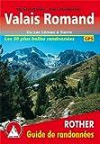 echange, troc Guide Rother - Valais Romand - Les plus belles randonnées