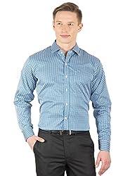Arihant Men's Cotton Checkered Formal Shirt (AR73030244)