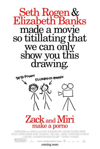 Zack and Miri Make a Porno (2008), Original Double-sided Movie Theatre Poster, 27x40, Seth Rogen