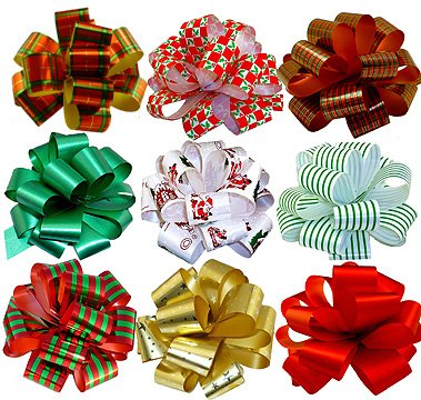 christmas-gift-pull-bows-5-wide-set-of-9-red-green-gold-stripes-swirls