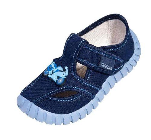 VIGGAMI, Pantofole bambini, Blu (blu scuro), 28 (17,5 cm)