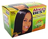 Africas Best Herbal Intensive Dual Conditioning No-Lye Relaxer System (Case of 6)