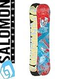 11-12 SALOMON サロモン スノーボード SALOMONDER 154cm サロモンダー / フラット ツイン