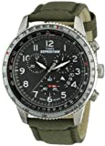 Timex Expedition Gents Watch T49823 Military Chronograph Dial with Khaki Green Fabric Strap