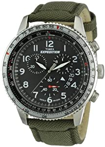 Timex Expedition Herren-Armbanduhr XL  Military Chrono Analog NylonTT49823D7