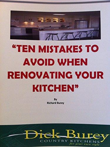 ten-mistakes-to-avoid-when-renovating-your-kitchen-english-edition