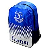 Everton FC Football Team Adjustable Fade Zip Bag Backpack