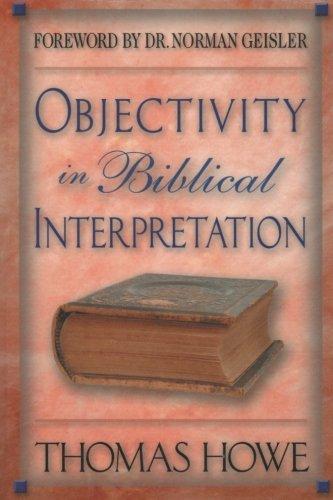 Objectivity in Biblical Interpretation
