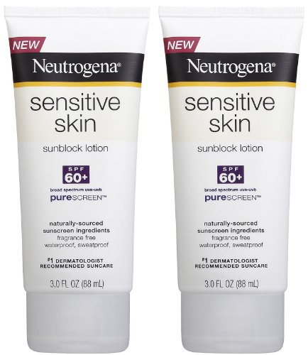 Neutrogena Sensitive Skin Sunscreen Lotion, SPF