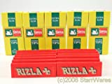 RIZLA RED ROLLING PAPERS AND SWAN EXTRA SLIM FILTER TIPS (600)