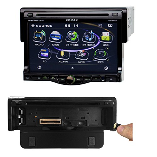 xomax xm dtsb7010 autoradio moniceiver display touch. Black Bedroom Furniture Sets. Home Design Ideas
