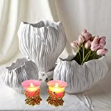 Beautiful Tea Light Candle Holder For Home Decor Set Of 2