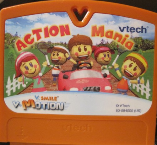 V Smile, V Motion, Action Mania Game Cartridge - 1