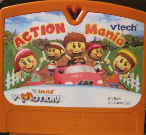 V Smile, V Motion, Action Mania Game Cartridge