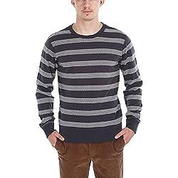 Zobello Men's Sweatshirt (21000A_Dark Grey_X-Large)