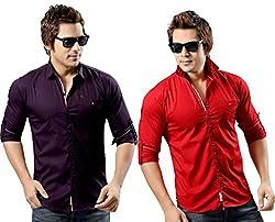 RX3 by Redox Slim Fit Shirt[9536-2-PCK2-13-07-L]