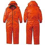 クロダルマ/作業服 つなぎ/防水防寒ツナギ カラー:28_オレンジ サイズ:L 品番:54205