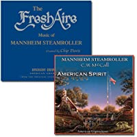 The Fresh Aire Music of Mannheim Steamroller & American Spirit CD Bundle