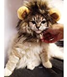 Dogloveit Pet Costume Lion Mane Wig for Dog Cat Halloween Dress up with Ears(Please be aware of fake products from other sellers)