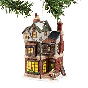 Dickens A Christmas Carol Village from Department 56 Cratchit's Corner, Mini