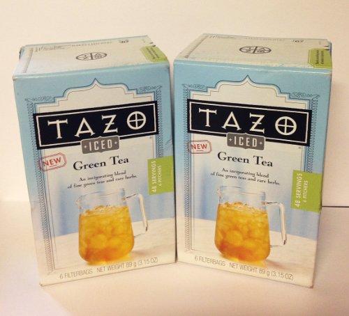 Tazo Iced Green Tea 6 Tea Bags Pack Of 2