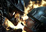 Alien - colonial marines - gaming - A3 poster - print - picture
