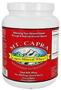 Doctors Choice, Naturally Mt Capra Capra Mineral Whey, 1440-gram Plastic Jar